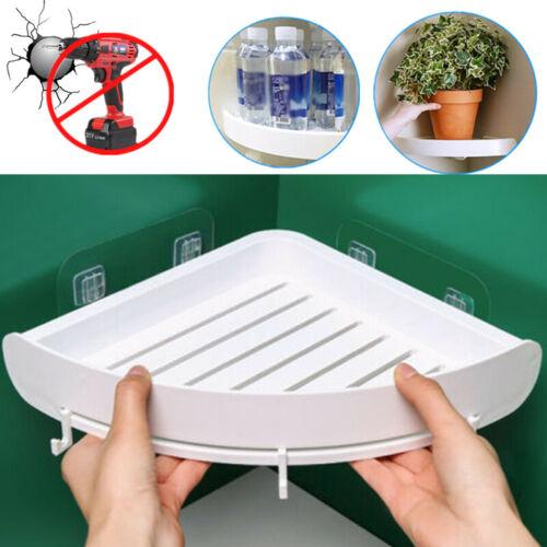 Triangular Shower Caddy Shelf Bathroom Corner Bath Storage Holder Organizer Rack