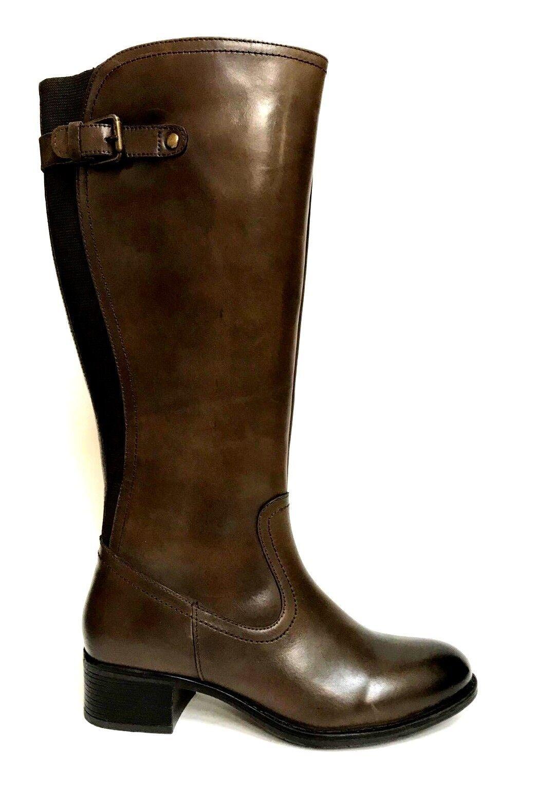 shoes women PREGUNTA SHOES STIVALI 5351 BROWN 100% PELLE INVERNO SCONTO 50%