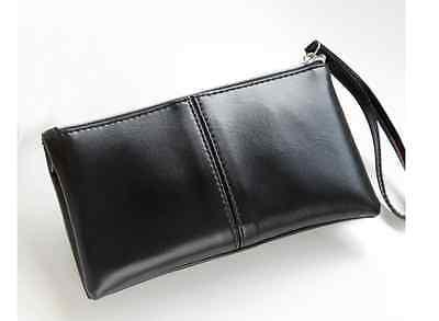 Clutch klein schwarz Tasche Style Handtasche Party Reissverschluss Damen bunt
