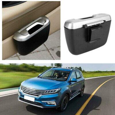 1Pc Silicone Car Mini Trash Can Rubbish Garbage Bin Holder Dust Storage Portable
