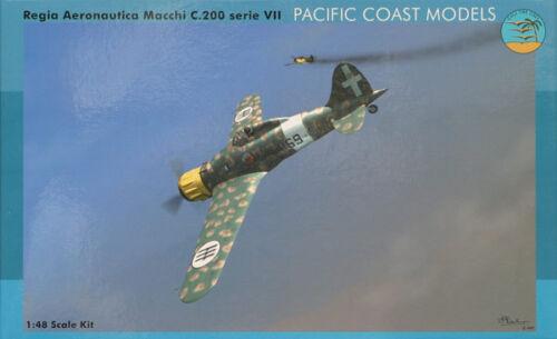 Pacific Coast Models PCM48001 1//48 Macchi C.200 Series VII