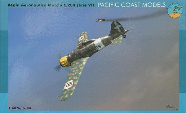 PACIFIC COAST MODELS Regia Aeronautica Serie 7  Macchi C200  1//32 scale kit