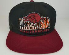 Vintage Arkansas Razorbacks 1994 NCAA College Basketball Champions Snap Back Hat