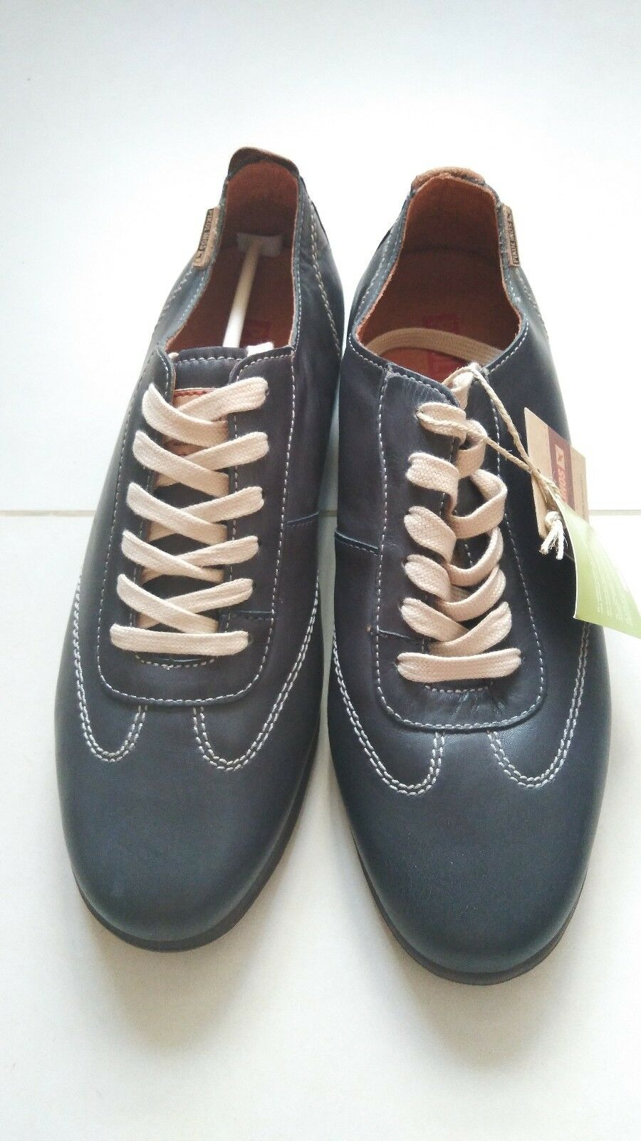 Pikolinos Mens Mackay Leather Sneakers shoes EU Size 40 US Size 6.5 - 7