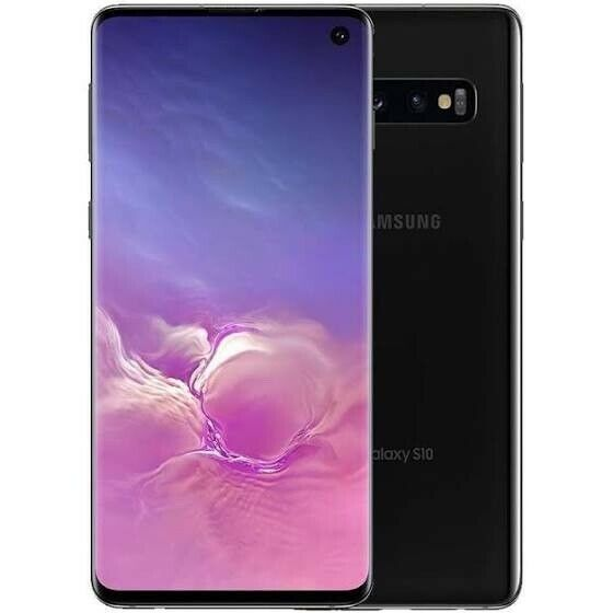 Samsung Galaxy S10 SM-G973F - 512GB - Prism Black (Unlocked) (Dual SIM)