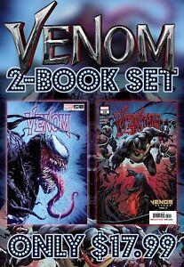 VENOM-28-VALERIO-GIANGIORDANO-SET-OF-2-Cover-A-amp-TRADE-Variant-Ltd-3000-NM