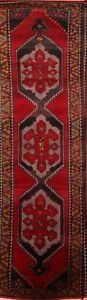 END-OF-YEAR-CLOSE-OUT-Vintage-Geometric-Runner-Kazak-Russian-Oriental-Rug-4x13