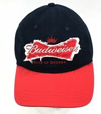 7db0c06e265 Budweiser Beer 2013 Official Product Blue Cotton Adjustable Snapback Dad Hat  Cap
