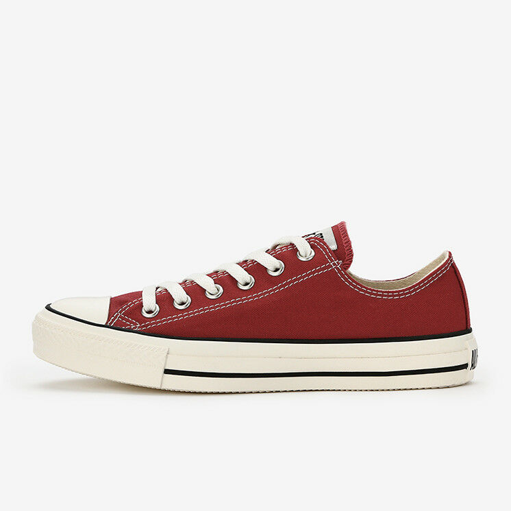 CONVERSE ALL STAR WASHEDCANVAS OX Red Chuck Taylor Japan Exclusive