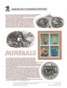 393-29c-Minerals-Block-2700-2703-USPS-Commemorative-Stamp-Panel
