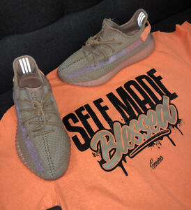 6986c3108 Image is loading Shirt-Match-Yeezy-Clay-350-Boost-Self-Made-