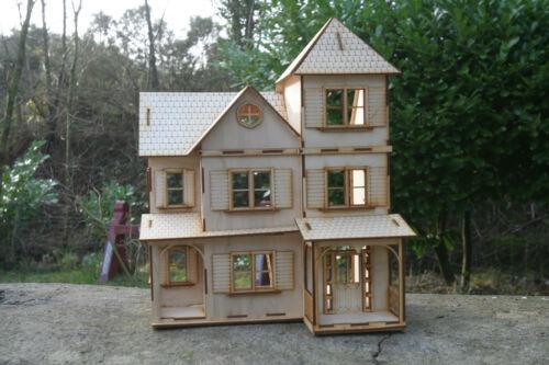 Laser Cut legno Multistrato in Legno Sarah Peale House 3d Puzzle/KIT