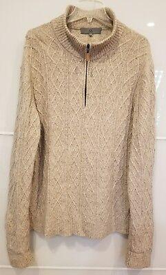 Clothing, Shoes & Accessories $129 Nwot Nordstrom Qi New York Men's Lamb Wool Blend Zip Sweater Xxl
