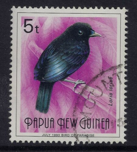 199193 PAPUA NEW GUINEA 5t BIRD JULY 1993 AT BASE FINE LIGHTLY USED our ref K2