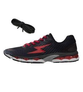 on sale 6165e d3a00 Dettagli su scarpe running FLASH 1.8 ZEUS NERO professionale podista corsa  runner