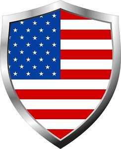 American-United-States-Stars-and-Stripes-Flag-Shield-Decal-Sticker