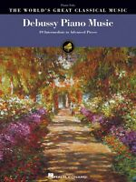 Debussy Piano Music Sheet Music 39 Intermediate To Advanced Pieces 000240343
