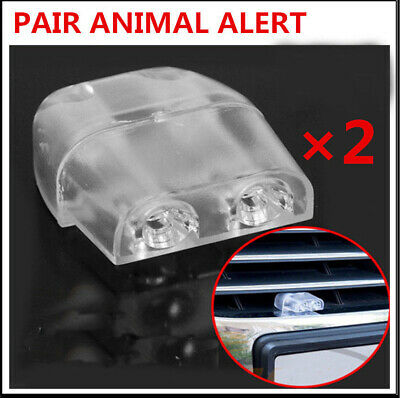 Deer Warning Whistle Animal Alert Device for Car Safety Accessory 2 Pairs