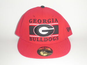 New Era 59Fifty Georgia Bulldogs FROSH Fitted Hat Red 7 3 8 ( 32 ... 3d54576c1ad