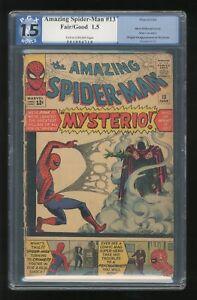 Amazing-Spider-Man-13-1964-G-1-5-PGX-1st-App-of-Mysterio-Marvel-CGC