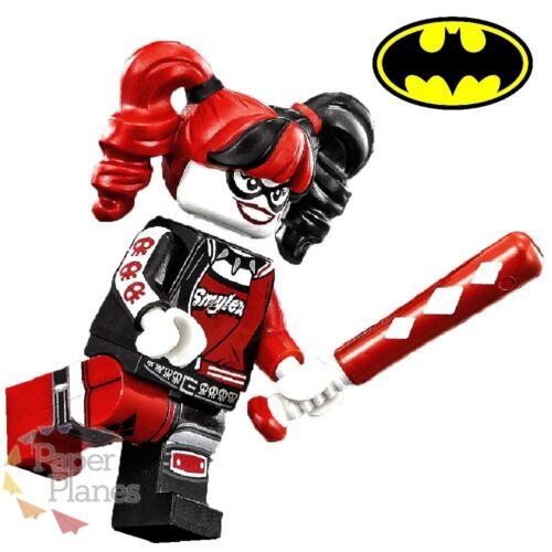 Harley Quinn Maßgeschneidert Minifigur Passt Lego Toy Batman Movie P101