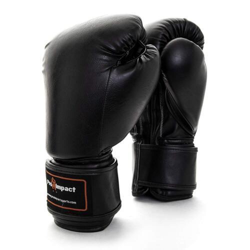 Pro Impact Muay Thai Fighting Sparring Training Foam Kickboxing Boxing Gloves