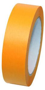 Goldband-50m-Rolle-Kartonpreis-Fineline-Washi-Klebeband-Malerband-Profi-Qualitaet