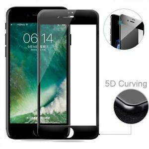For-iPhone-6-6s-7-8-FULL-COVER-TEMPERED-GLASS-SCREEN-PROTECTOR-5D-CURVED-BLACK