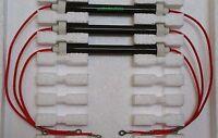Set Of 3 Bulbs/heating Elements For Edenpure 500 Xl Gen3 500 Infrared Heater