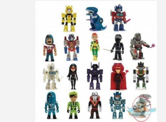 Transformers Transformers Transformers vs Gi Joe Mini Series 24 Pieces Beautiful Plastic 8a5731