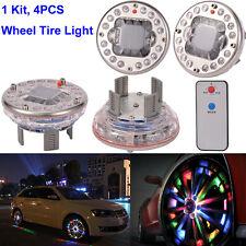 4Pcs 4 Modes 16 LED Car Auto Solar Energy Flash Wheel Tire Light Lamp Decoration