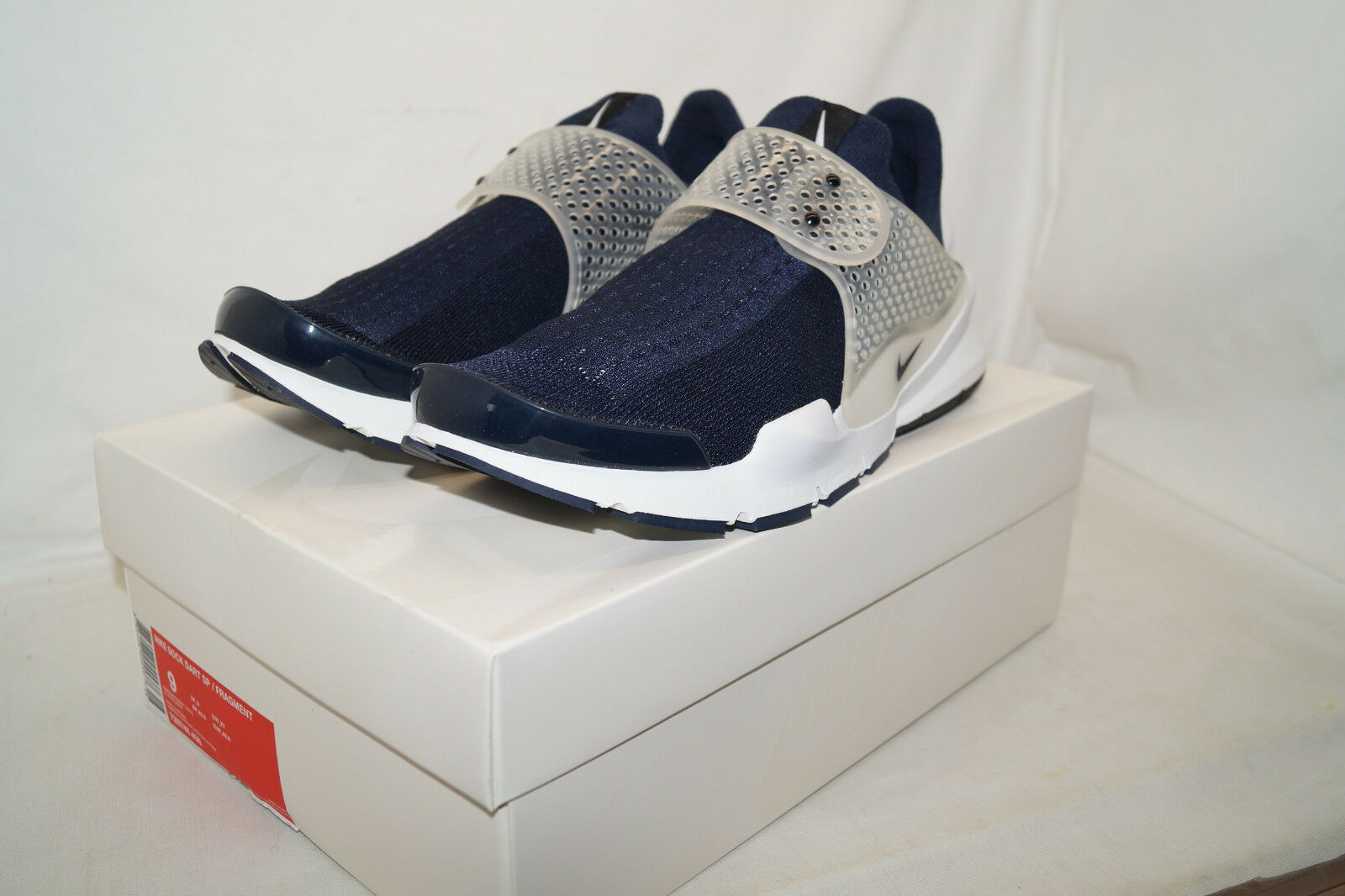 NIKE LAB SOCK DART SP x FRAGMENT Gr.42,5 UK.8  728748 400 obsidian blau