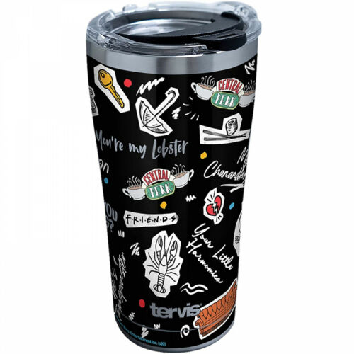 Friends Collage 20 oz Stainless Tervis® Tumbler Black