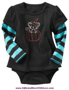 Baby Gap NWT Red UNISEX NICE SANTA TAKE NOTE LS BODYSUIT TOP 0 3 6 Months