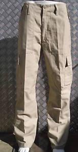 Beige-Estilo-Militar-Combate-Cargo-Pantalones-de-Campo-de-utilidad-Talla-34-034-38-034-Nuevos
