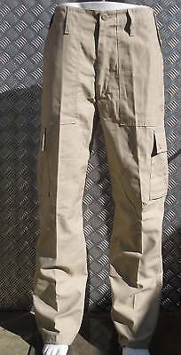 """Modestil Beige Military Style Combat Cargo / Utility / Field Trousers Size 26""""-30"""" - New"""