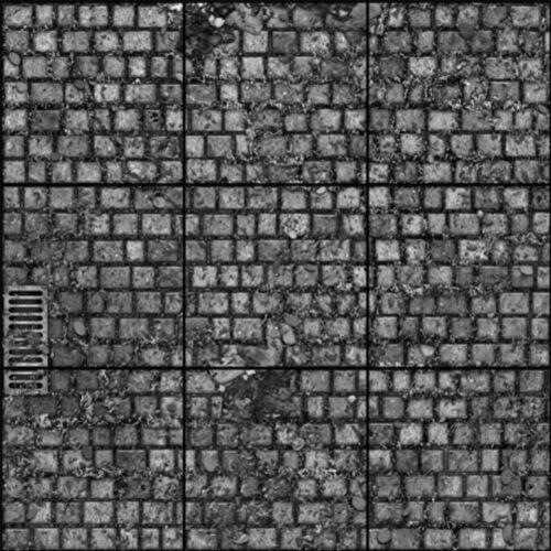 /&  5 SHEETS EMBOSSED BUMPY PAPER COBBLESTONE WALK PATH walkway 1//6  CODE s4b7