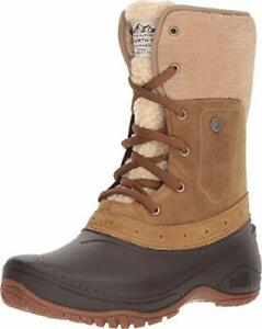 The-North-Face-Womens-Shellista-Roll-Down-Closed-Toe-Ankle-Cold-Brown-Size-5-5