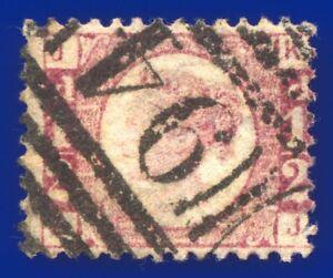 1870-SG49-d-Rose-Plate-8-KJ-Good-Used-scarce-Boston-94-CV-Fine-Used-120-ahng