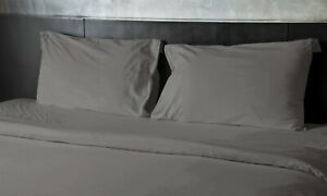 HIGH THREAD COUNT 1800 EGYPTIAN COTTON & BAMBOO SATIN SOFT SHEET DEEP POCKETS