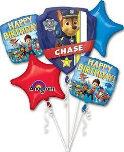 5-Piece-Paw-Patrol-Birthday-Balloon-Bouquet-Party-Decorating-Supplies