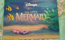 Disney Store Exclusive Lithograph Portfolio The LITTLE MERMAID  4   10 X 14