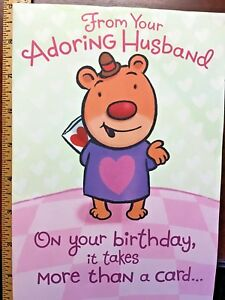 Image Is Loading 13 WIFE HAPPY BIRTHDAY CARDS X LARGE FUNNY