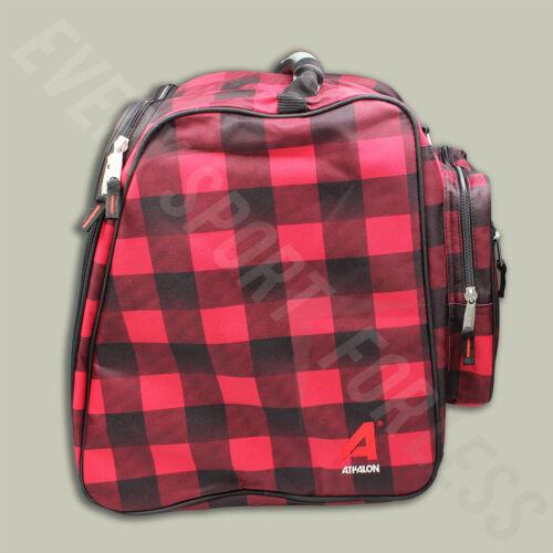 Athalon Light /& Go Ski//Snowboard Boot Bag NEW Lists @ $50 Red//Black