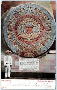 Calendario 1906.Mexico Display Of Calendario Azteco 1906 Udb Postcard Ebay