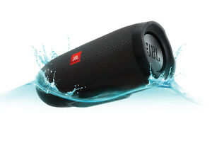 JBL Charge 3 Waterproof Portable Bluetooth Speaker (Black) 20 Hour Playtime!!