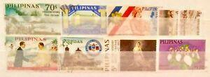 Filippine-francobolli-alcuni-vecchi-scarse-tratta-da-album-strisce-LOTTO-07190119