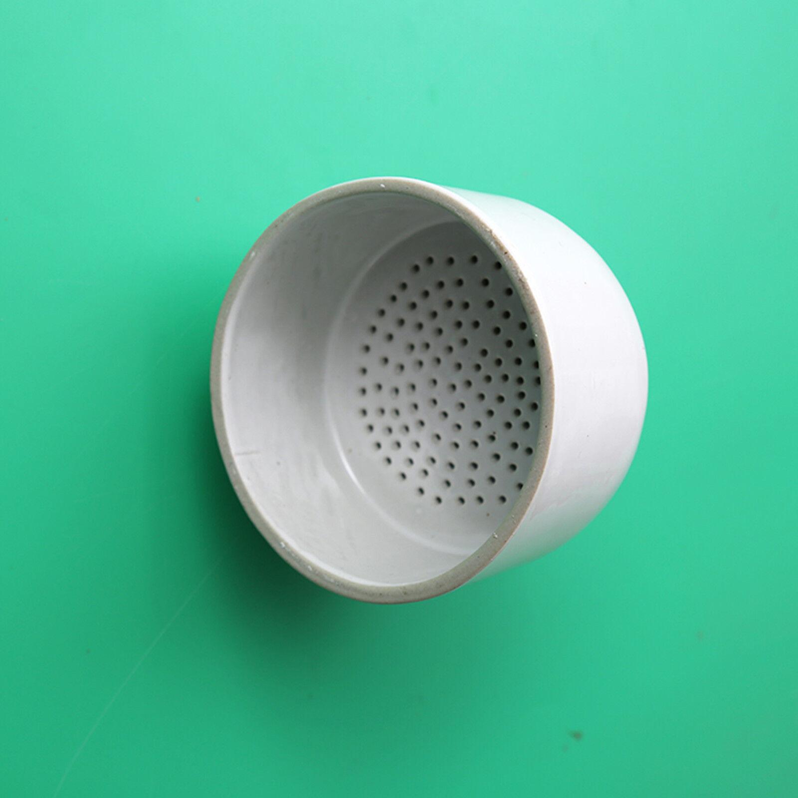 Deschem 120mm Porcelain Buchner Funnel,OD=12cm,Laboratory B/üchner Funnels