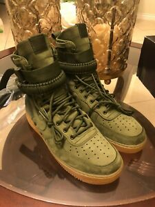 Nike Special Field Air Force 1 SF AF1 High Tops Faded Olive