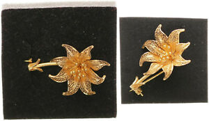 Brooch-Gold-750-4-9g-Approx-3-5cm-Large